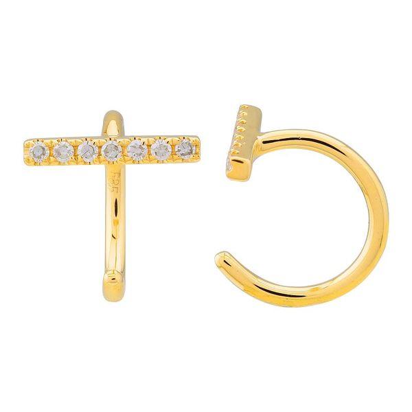 Diamond Bar Threader Earrings Martin Busch Inc. New York, NY