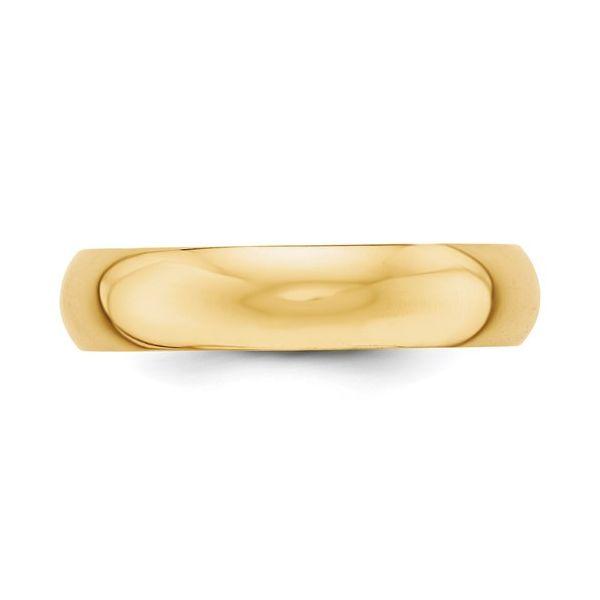 5MM  Gold Wedding Band Image 3 Martin Busch Inc. New York, NY