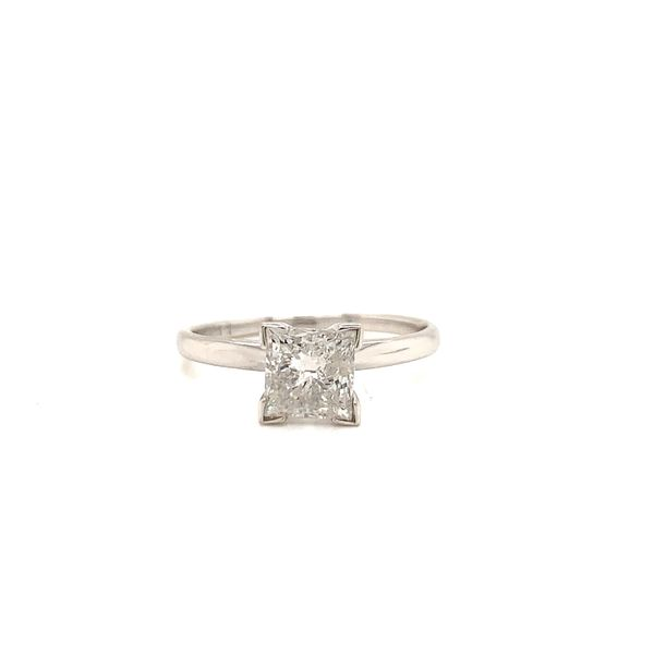 Princess Cut Solitaire Engagement Ring Martin Busch Inc. New York, NY
