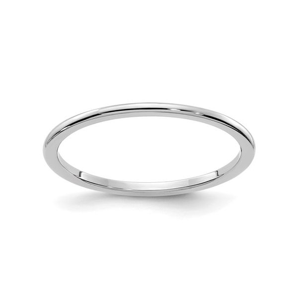 White Gold 1.2MM Stackable Band Martin Busch Inc. New York, NY