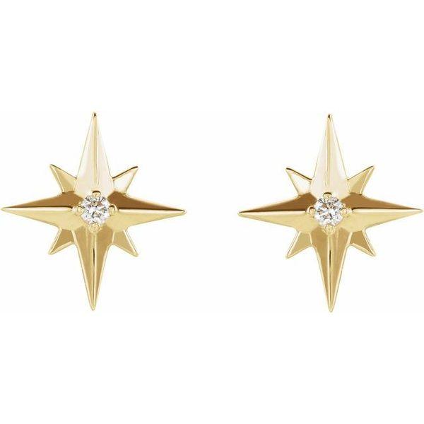 Starburst Diamond Earring Martin Busch Inc. New York, NY