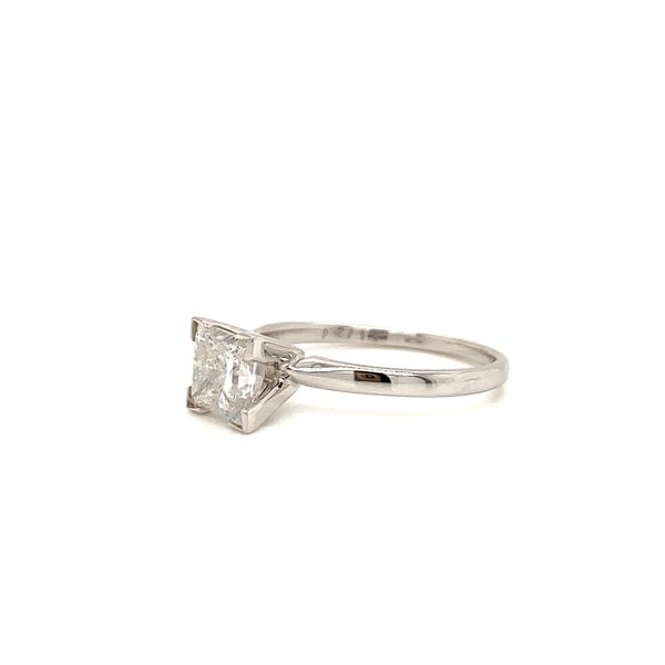 Princess Cut Solitaire Engagement Ring Image 2 Martin Busch Inc. New York, NY