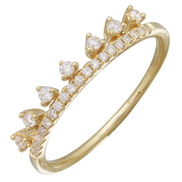 Crown Stackable Ring Martin Busch Inc. New York, NY