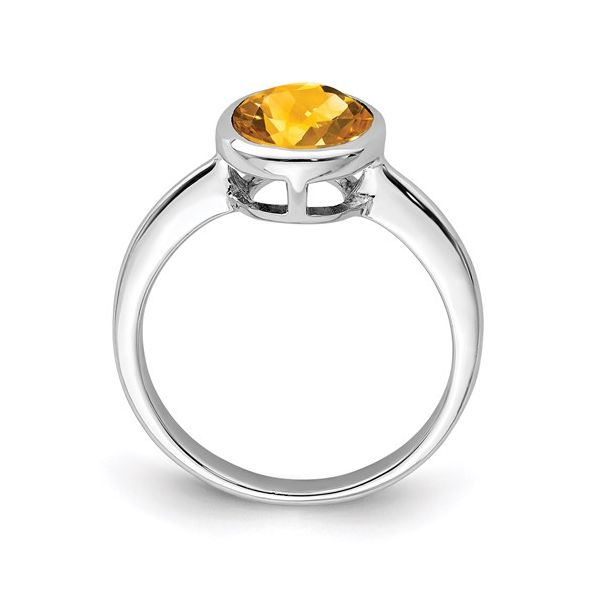 Sterling Silver Citrine Ring Image 2 Martin Busch Inc. New York, NY