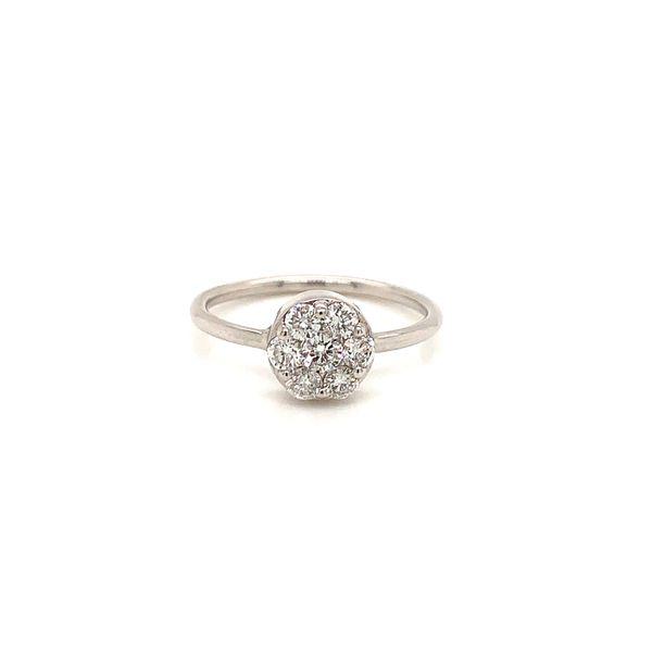 Cluster Diamond Ring Martin Busch Inc. New York, NY