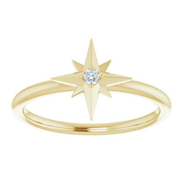 Starburst Diamond Ring Martin Busch Inc. New York, NY