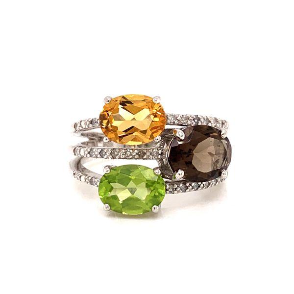 Multi Stone Ring Martin Busch Inc. New York, NY