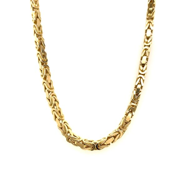 Solid Gold Byzantine Chain Martin Busch Inc. New York, NY