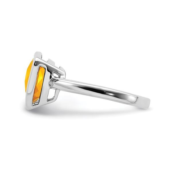 Sterling Silver Citrine ring Image 3 Martin Busch Inc. New York, NY