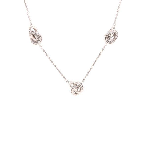 Triple Love Knot Necklace Martin Busch Inc. New York, NY