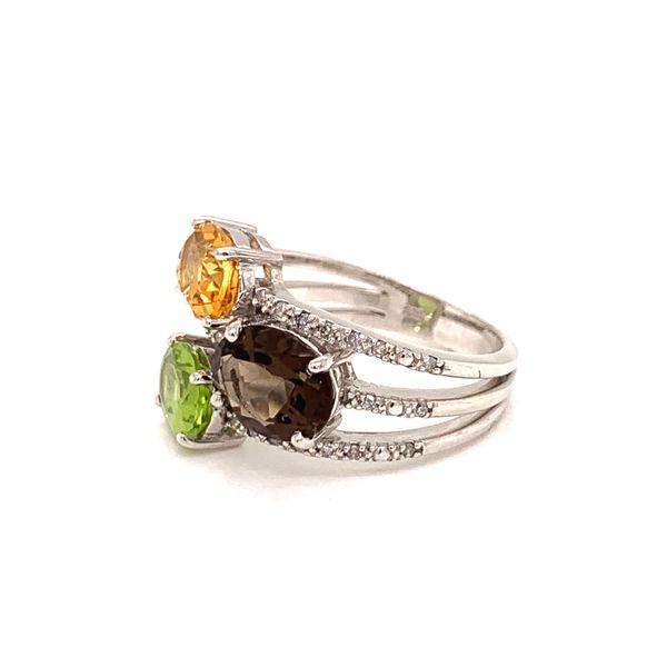 Multi Stone Ring Image 2 Martin Busch Inc. New York, NY