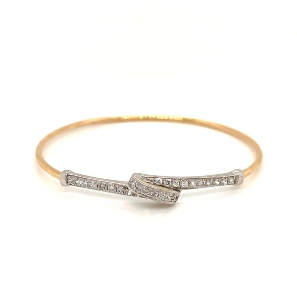 Slip On Diamond Bangle Martin Busch Inc. New York, NY
