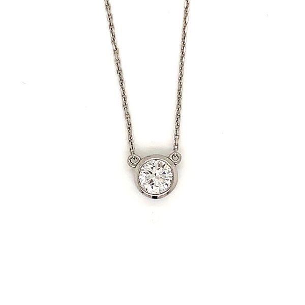 Solitaire Diamond Pendant Martin Busch Inc. New York, NY