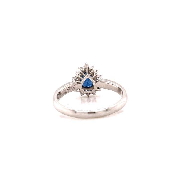 Platinum Sapphire and Diamond Ring Image 3 Martin Busch Inc. New York, NY