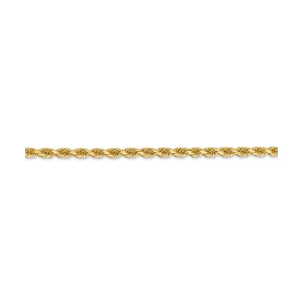 Gold Solid Rope Chain Image 2 Martin Busch Inc. New York, NY