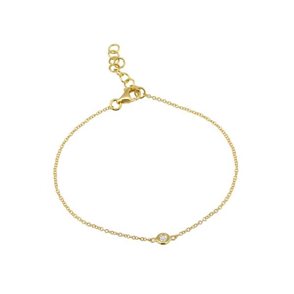 Bezel Set Diamond Bracelet Martin Busch Inc. New York, NY