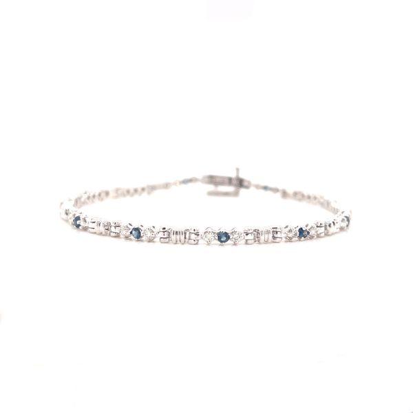 Sapphire & Diamond Bracelet Martin Busch Inc. New York, NY