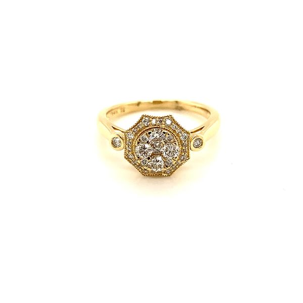 Vintage Style Diamond Ring Martin Busch Inc. New York, NY