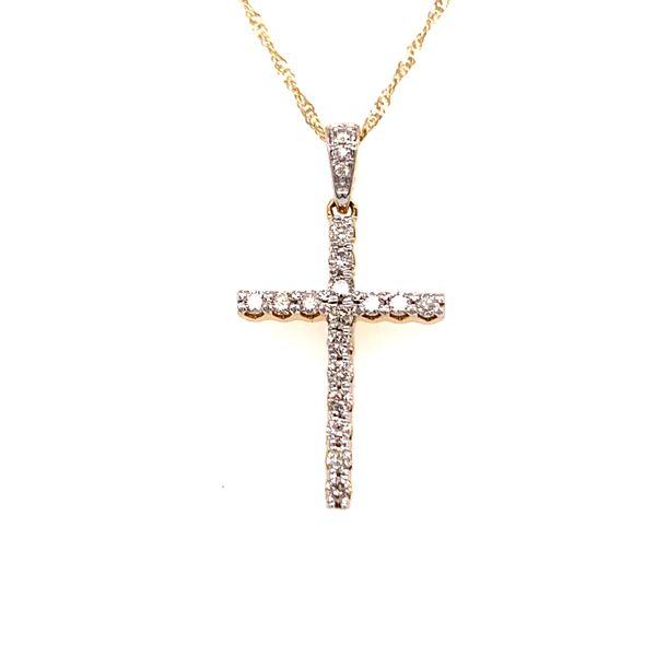 Diamond Cross Pendant Martin Busch Inc. New York, NY