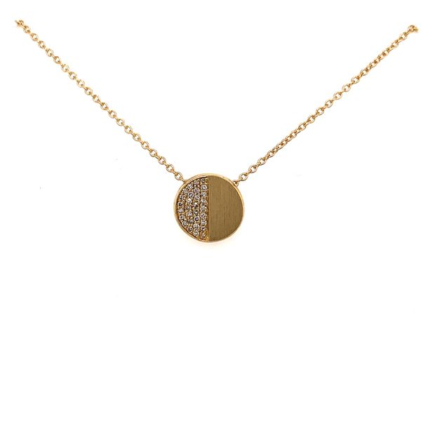 Pave Disc Pendant Martin Busch Inc. New York, NY
