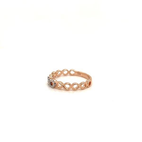 Infinity Diamond Ring Image 2 Martin Busch Inc. New York, NY
