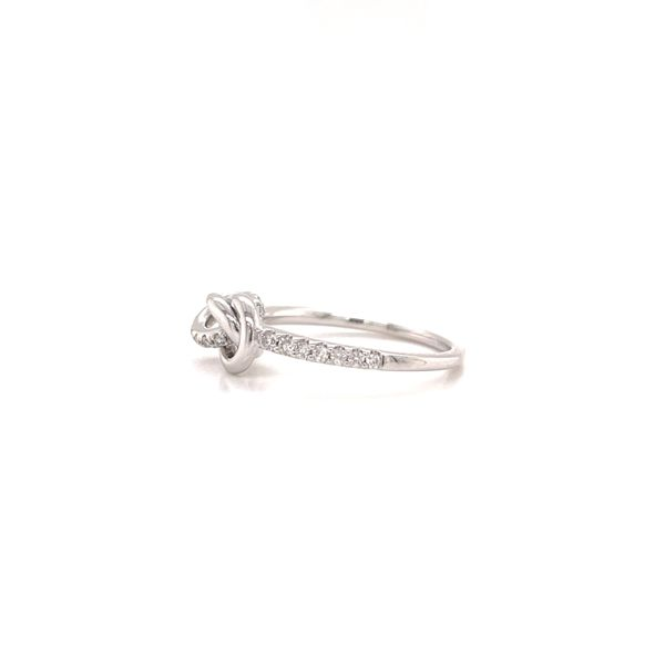 Love Knot Ring Image 2 Martin Busch Inc. New York, NY
