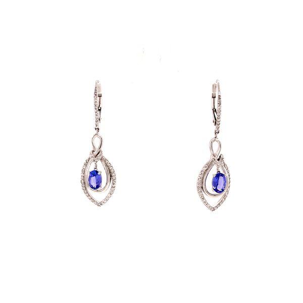 Tanzanite Drop Earrings Martin Busch Inc. New York, NY