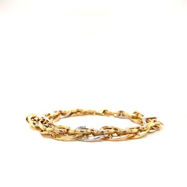 Two Tone Link Bracelet Martin Busch Inc. New York, NY