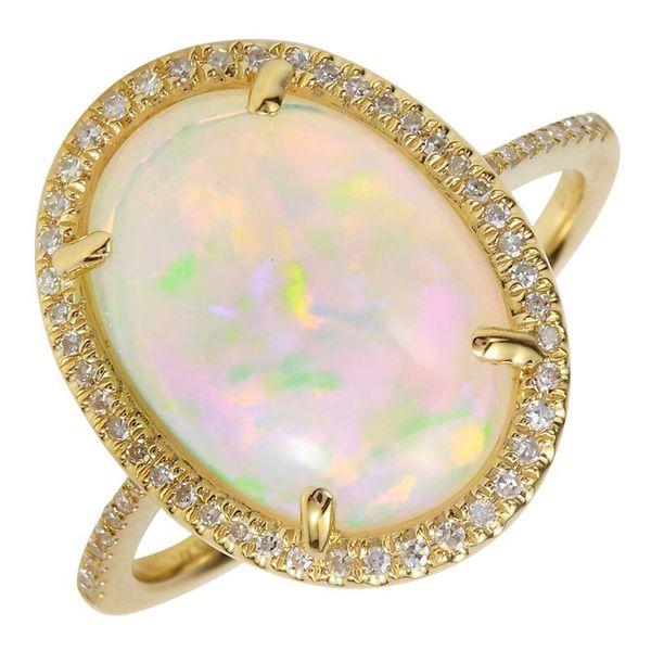 Opal and Diamond Ring Martin Busch Inc. New York, NY