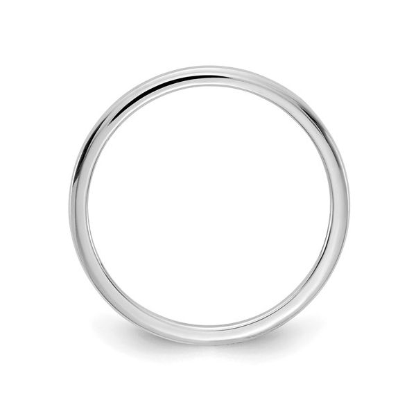 White Gold 1.2MM Stackable Band Image 2 Martin Busch Inc. New York, NY