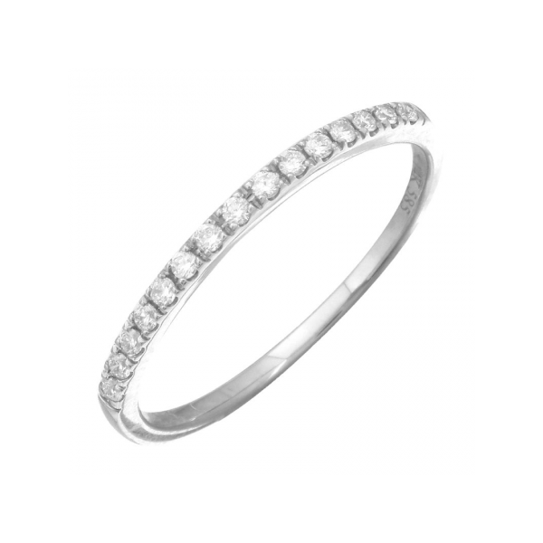 Pave Stackable Diamond Band Martin Busch Inc. New York, NY
