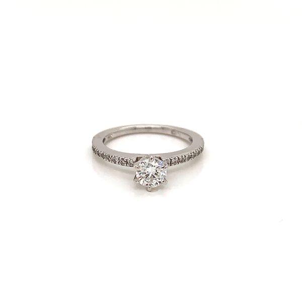 Round Diamond Engagement Ring Martin Busch Inc. New York, NY