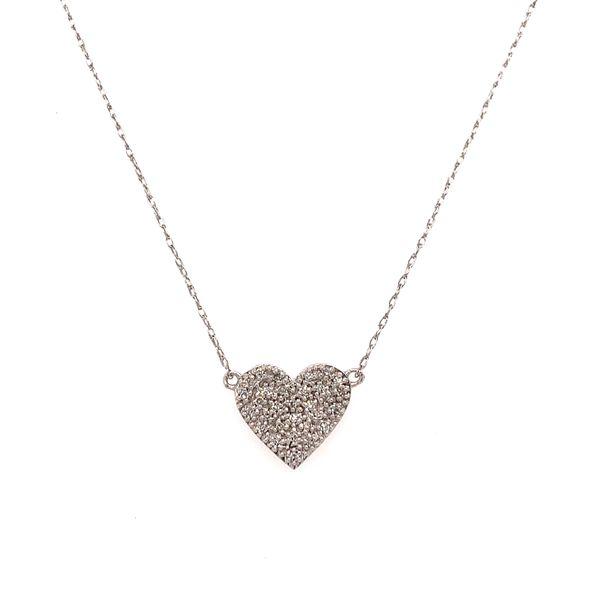 Diamond Heart Pendant Martin Busch Inc. New York, NY