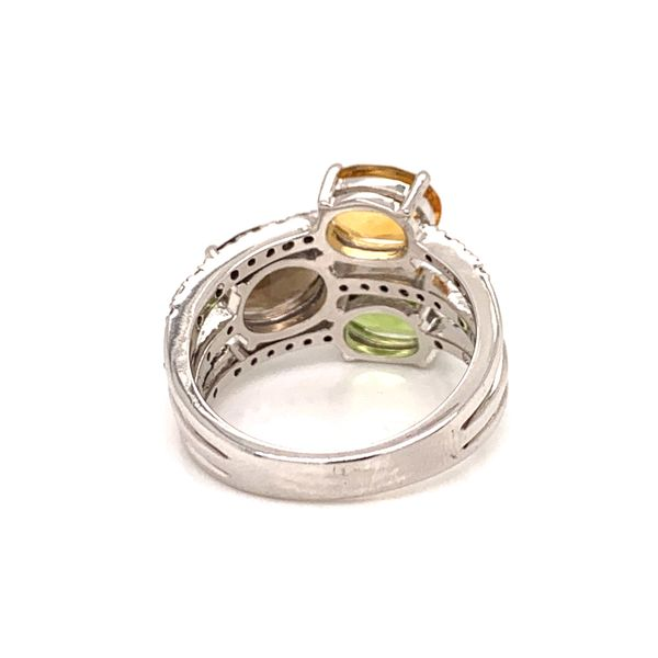 Multi Stone Ring Image 3 Martin Busch Inc. New York, NY