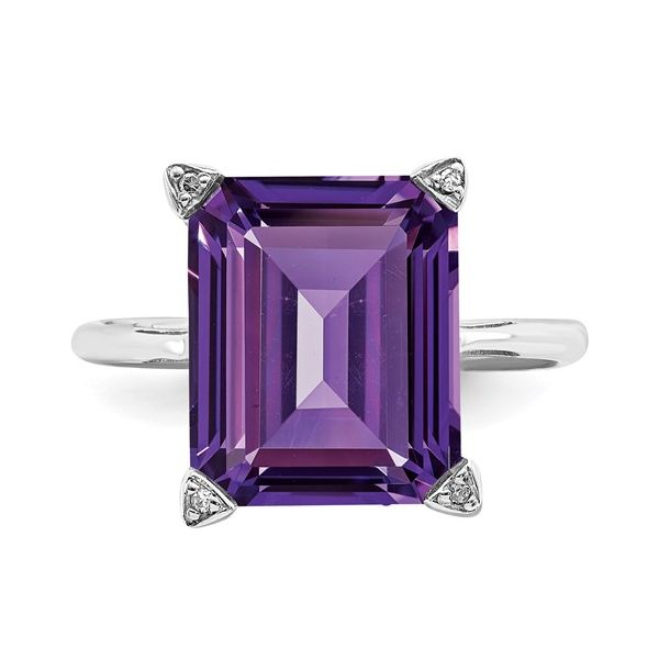 Sterling Silver Amethyst Ring Martin Busch Inc. New York, NY