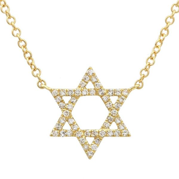 Diamond Star of David Pendant  Martin Busch Inc. New York, NY