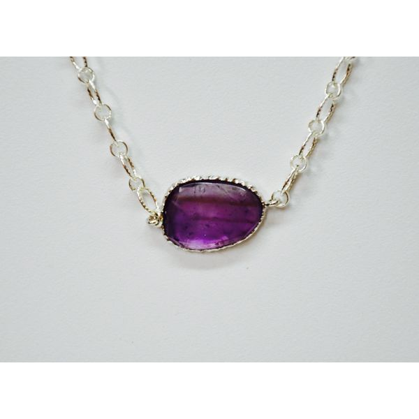 Sterling Silver Amethyst Necklace McCoy Jewelers Bartlesville, OK
