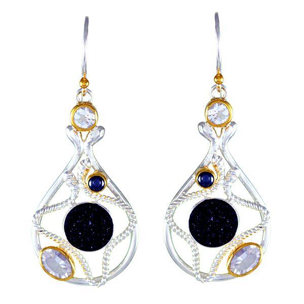 Sterling Silver Vermeil Earring McCoy Jewelers Bartlesville, OK