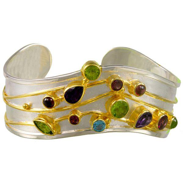 Sterling Silver Vermeil Cuff Bracelet McCoy Jewelers Bartlesville, OK