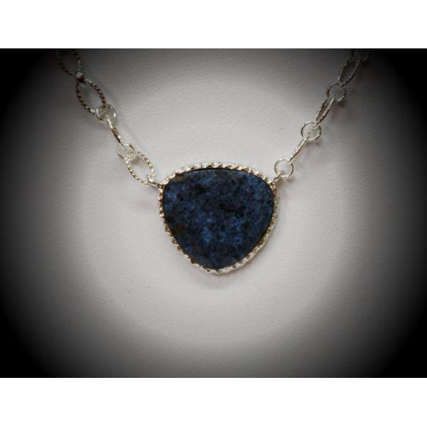 Sterling Silver Lapis Pendant McCoy Jewelers Bartlesville, OK