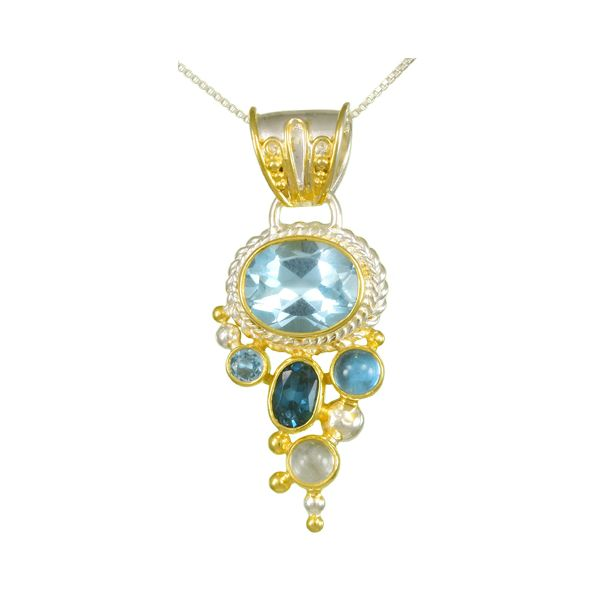 Sterling Silver Vermeil Necklace McCoy Jewelers Bartlesville, OK
