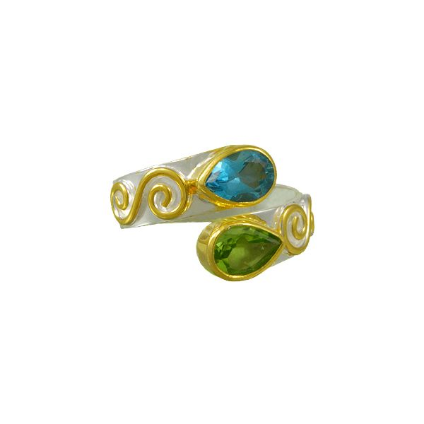 Sterling Silver Vermeil Ring McCoy Jewelers Bartlesville, OK