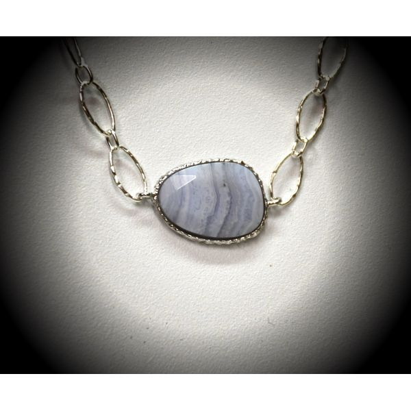 Sterling Silver Agate Necklace McCoy Jewelers Bartlesville, OK