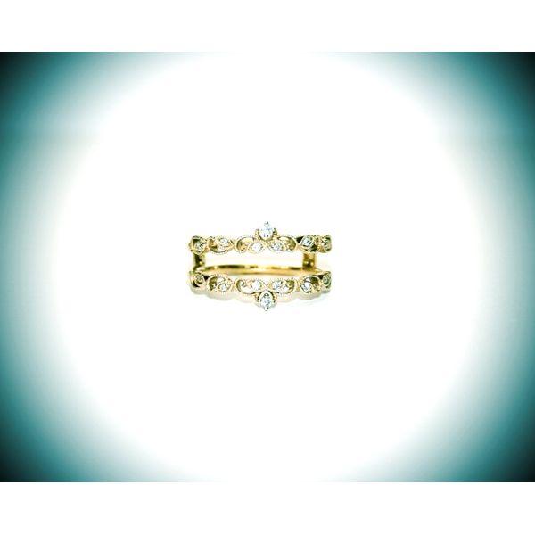 Diamond Wrap/Guard Ring McCoy Jewelers Bartlesville, OK