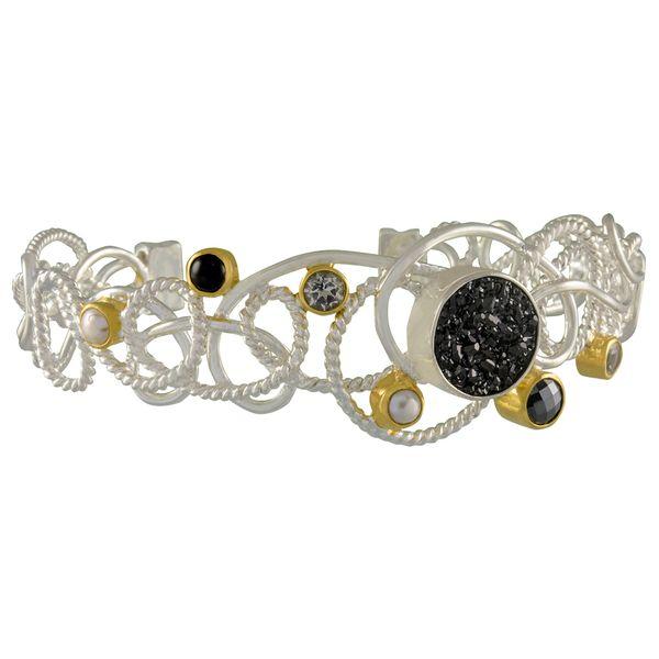 SS Vermeil Cuff Bracelet McCoy Jewelers Bartlesville, OK