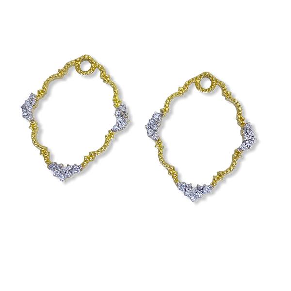 Diamond Earrings Image 4 Javeri Jewelers Inc Frisco, TX
