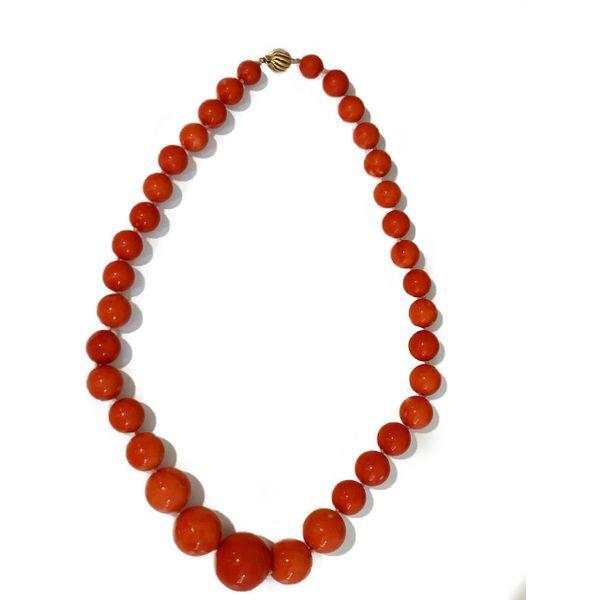 Estate Coral Necklace Mystique Jewelers Alexandria, VA