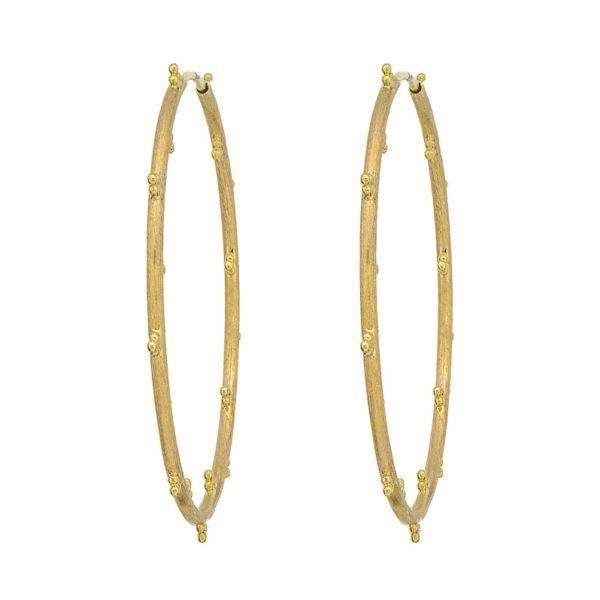 Provence Large Trio Hoop Earrings Mystique Jewelers Alexandria, VA