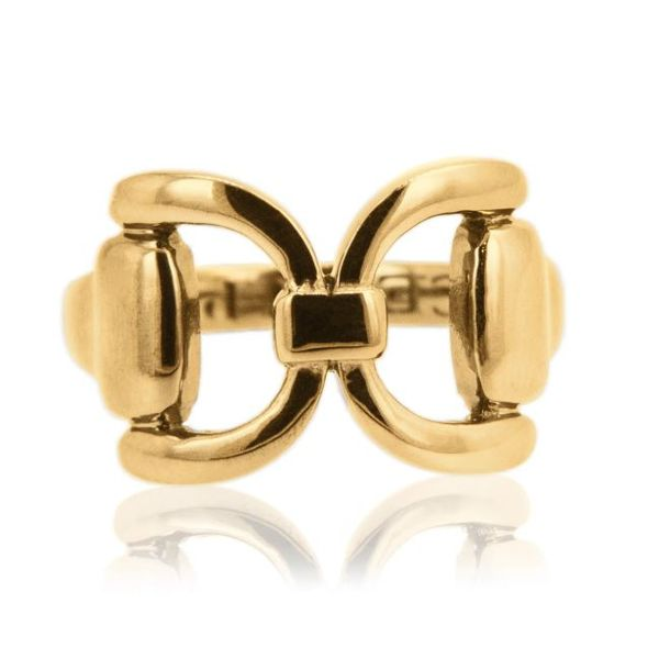 Gold Tied Bit Ring Mystique Jewelers Alexandria, VA
