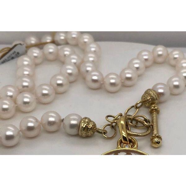 9mm pearls screw clasp Toggle  Mystique Jewelers Alexandria, VA